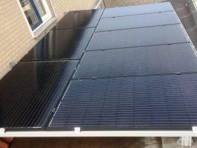 SOLAR - zonnepanelen aluminium frame