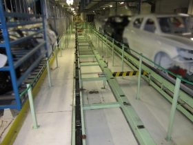 Stofvrije tunnel - Aluminium profielen