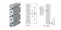 Aluminium profiel 1.11.030150.84SP