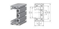 Aluminium profiel 1.11.080160.89SP