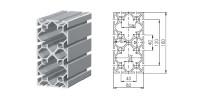 Aluminium profiel 1.11.080160.124SP